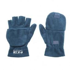Handschoen fleece half-vinger incl. bedrukken