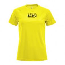 T-Shirt Dry Tech polyester dames incl. opdruk