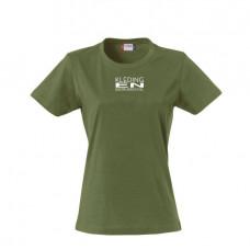 T-shirt Basic dames incl. bedrukken