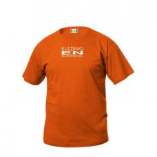T-shirt Basic junior incl. opdruk