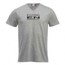 T-shirt Fashion V hals Unisex incl. bedrukken
