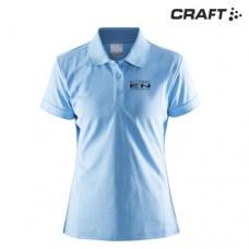 Polo Shirt Pique Classic Craft dames incl. bedrukking