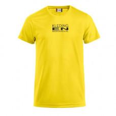 T-Shirt Polyester heren incl. opdruk