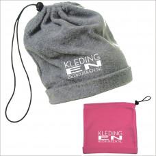 Fleece ski Buf incl. borduring