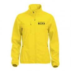 Softshell Jas dames incl. opdruk