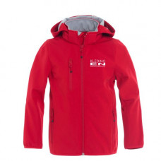 Softshell Junior jas incl. opdruk