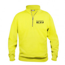Sweater met Rits incl. bedrukken