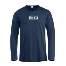 T-shirt Lange mouw heren incl. opdruk